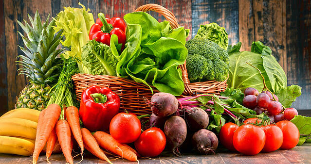 Fruit and Vegetables Healthy Lifestyle