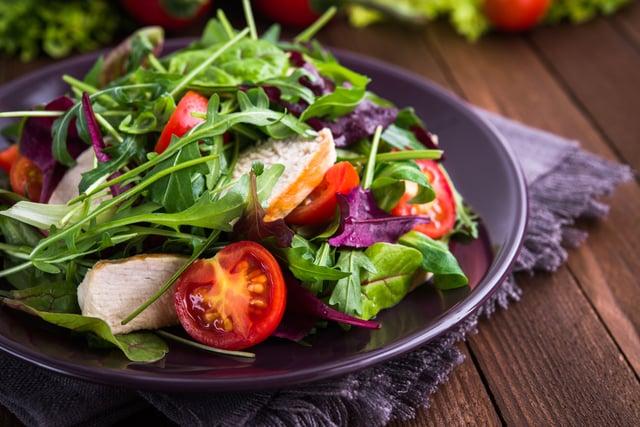 Salad Bowl Healthy Food